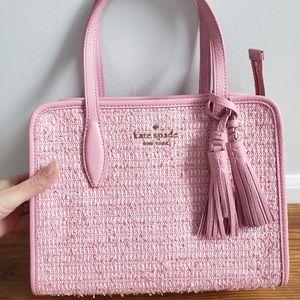 NWT Kate Spade Pink Zip Top Satchel Crossbody
